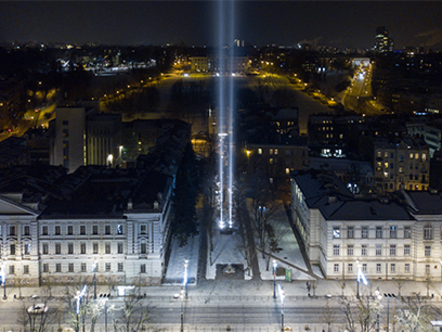 THE MONUMENT OF LIGHT