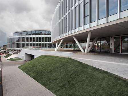 SECOND STAGE OF THE BALTIC HEARTS BUSINESS CENTRE HAS BEEN COMPLETED