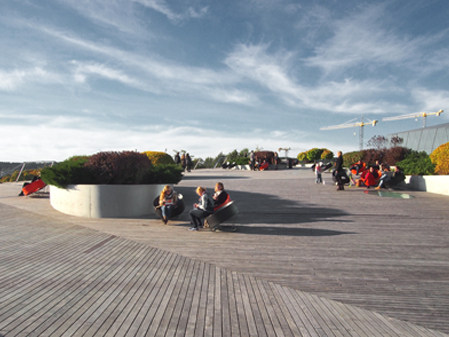 SWEDBANK TERRACE COMPLETED